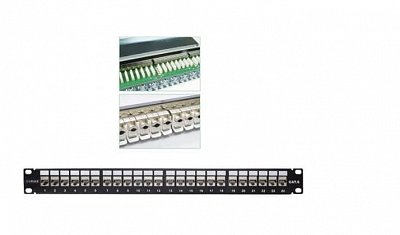 Bảng Cắm Patch panel 24-port Shielded VIVANCO CAT.6